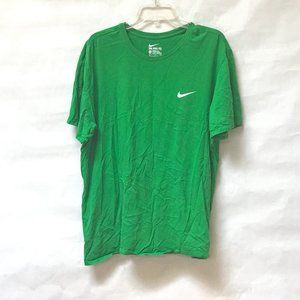 Nike Green Workout Athletic T Shirt Tee